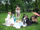 viktorianisches Picknick im Rahmen des WGT 2010