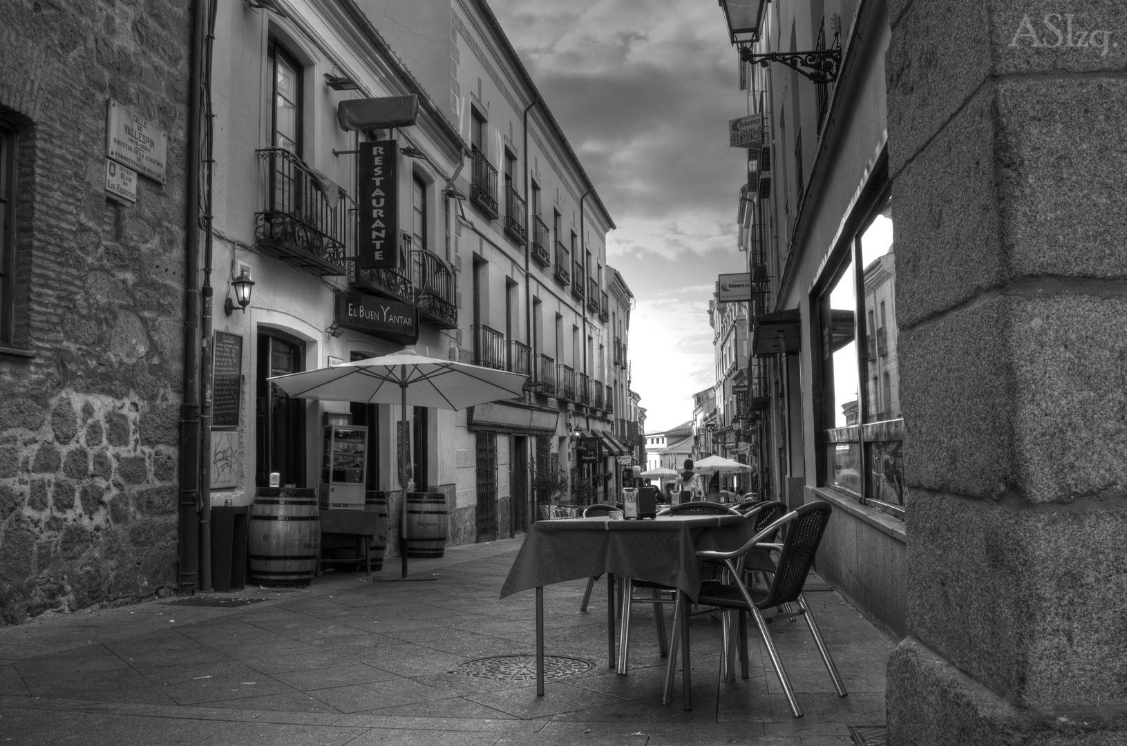 Ávila calle en B&N