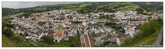 Vila de Agua de Pau (Sao Miguel, Azoren)