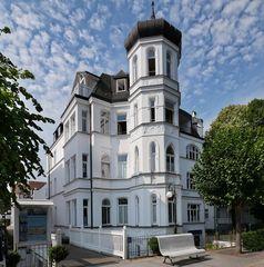 Villa Elfeld, Bäderarchitektur in Binz auf Rügen