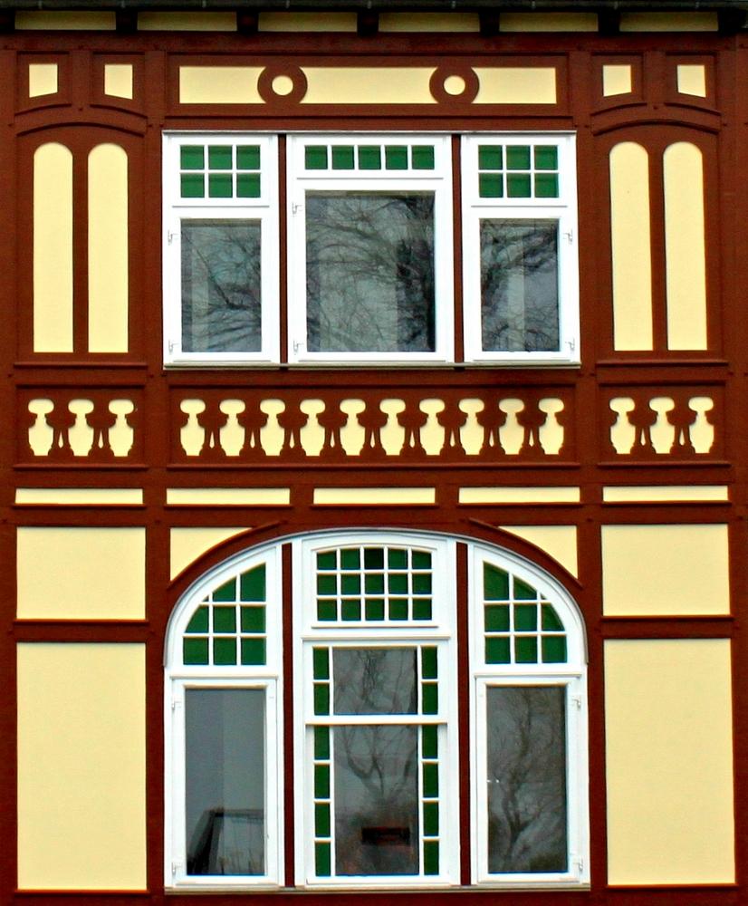Villa, Fassadendetail