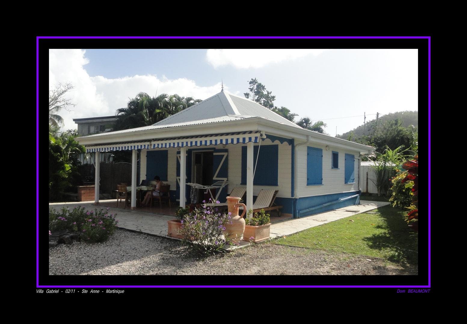 Villa Gabriel - Ste Anne - 02/11 - Martinique