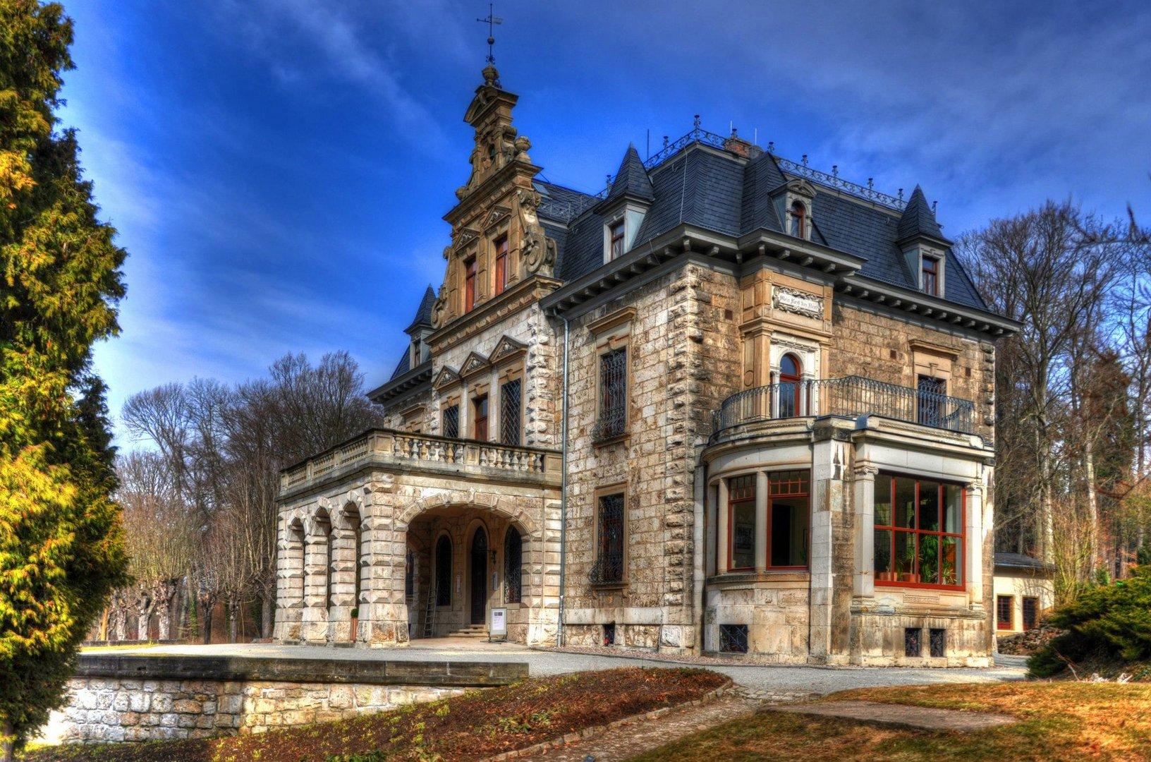 Villa haar weimar foto bild architektur hdr weimar bilder auf fotocommunity - Architektur weimar ...
