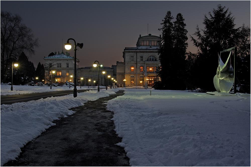 """"""" Villa im Schnee """""""