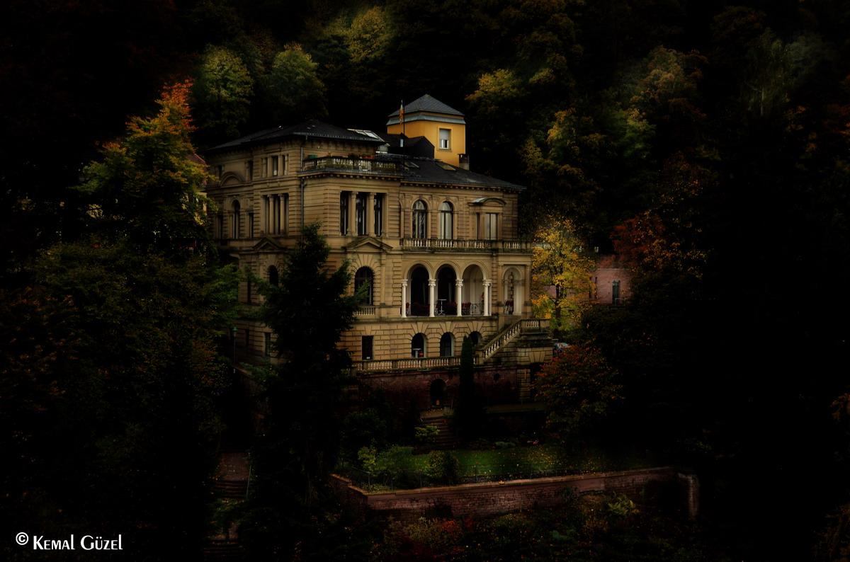 Villa im Wald ....