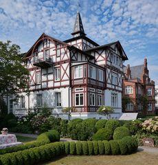 Villa Quisana, Bäderarchitektur in Binz auf Rügen
