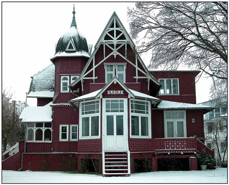 Villa Undine im Ostseebad Binz auf Rügen
