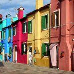 VILLAGE DE BURANO / ITALIE