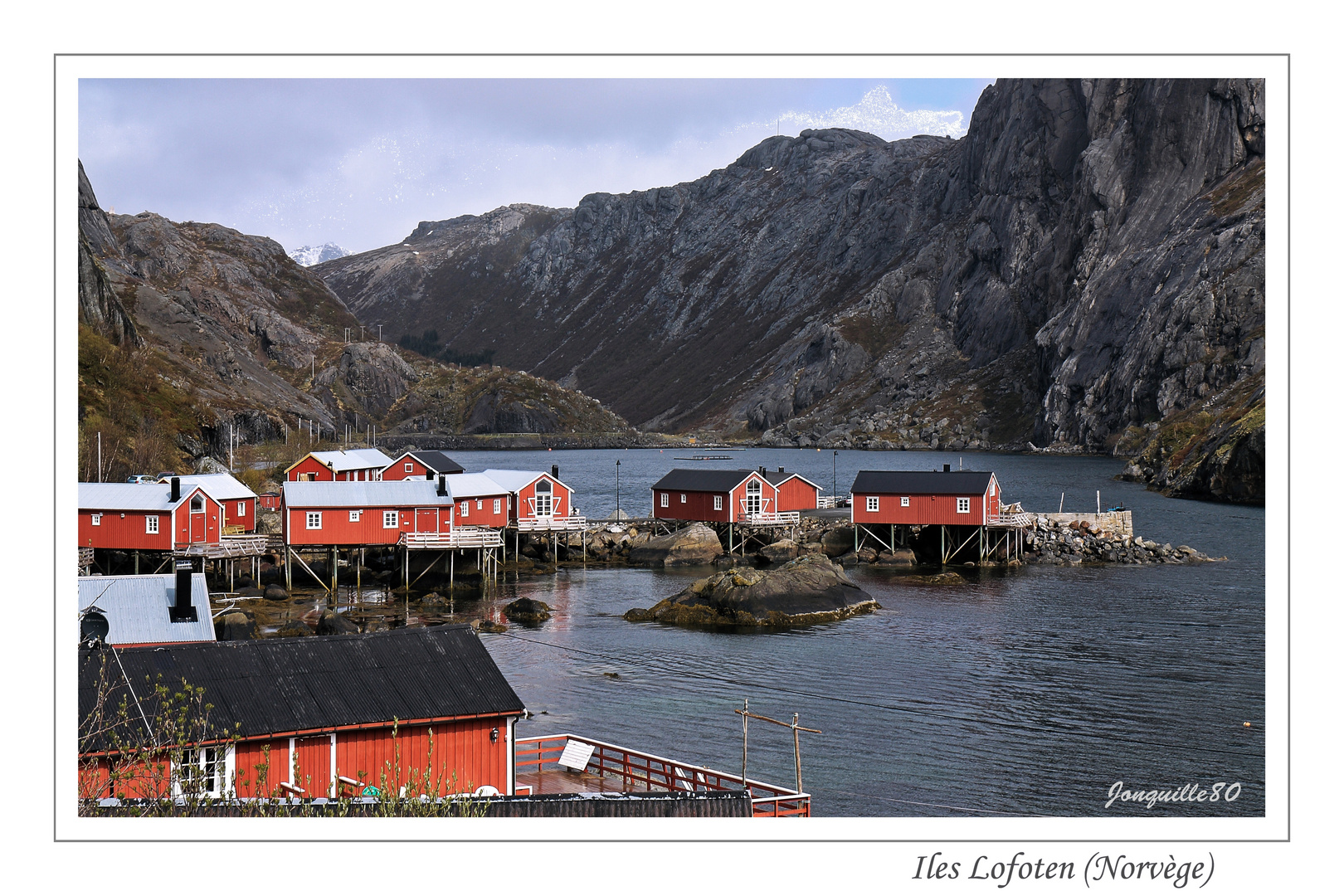 """Village d""""éleveurs de saumons"""