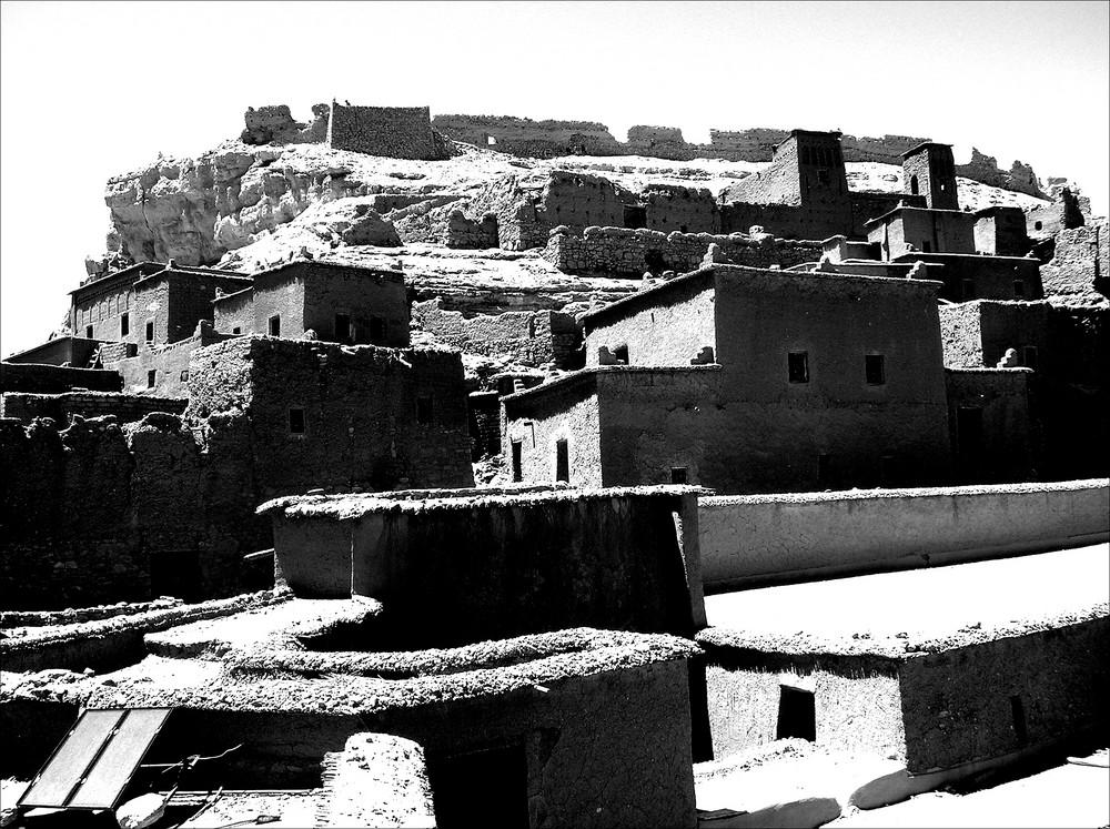 Villaggio nel deserto