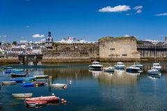 Ville Close,  Concarneau, Bretagne, France