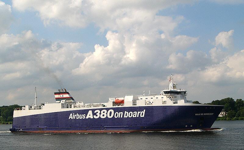 Ville de Bordeaux / Airbustransportschiff