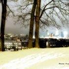 Vilniun under snow