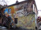Vilnius, Freie Republik Uzupis, eine Kunstgalerie