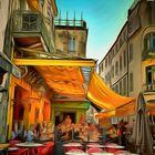 VINCENT CAFÉ 4.0  ...   Art-e.HOPPER   __©D8850--X_nV16°Gold#2