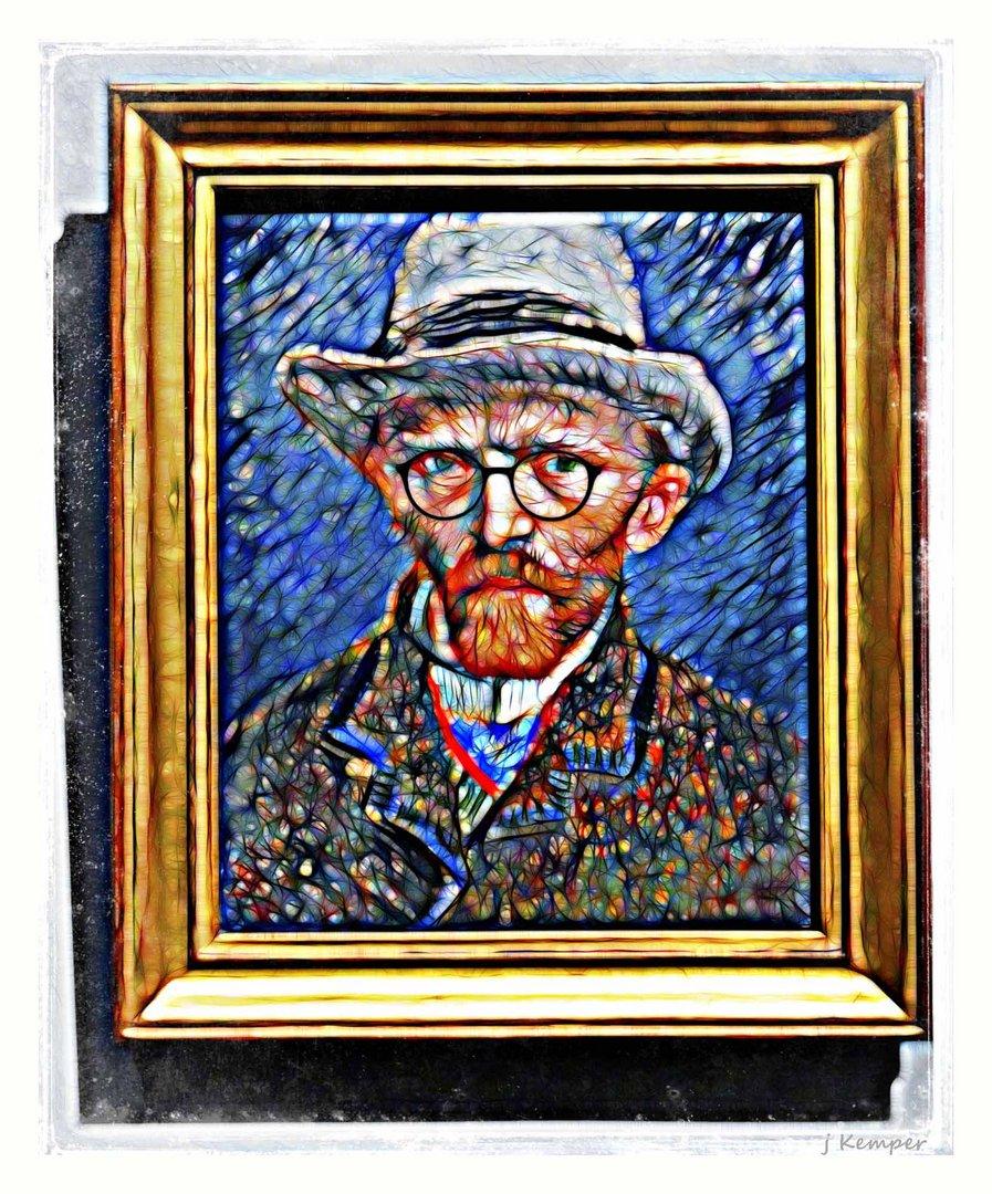 - Vincent trägt jetzt Brille -