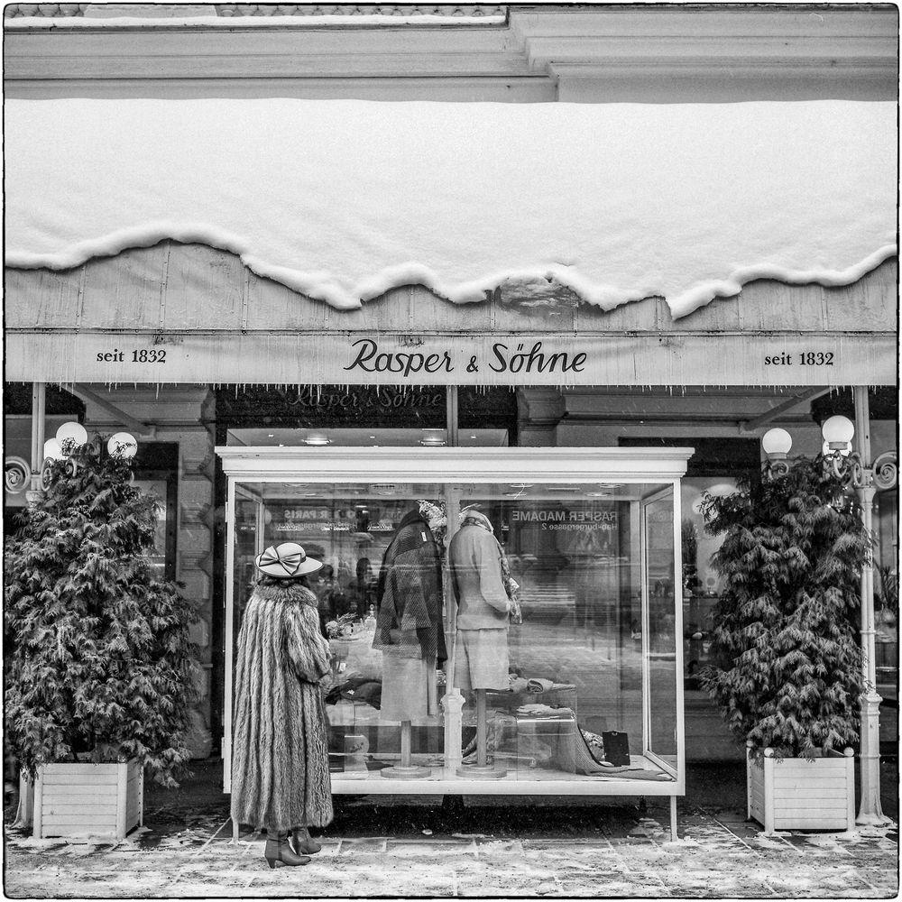 Vintage - Am Graben in Wien anno 1985...