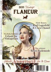 Vintage Flaneur Ausgabe 11 / Juli 2015 Cover