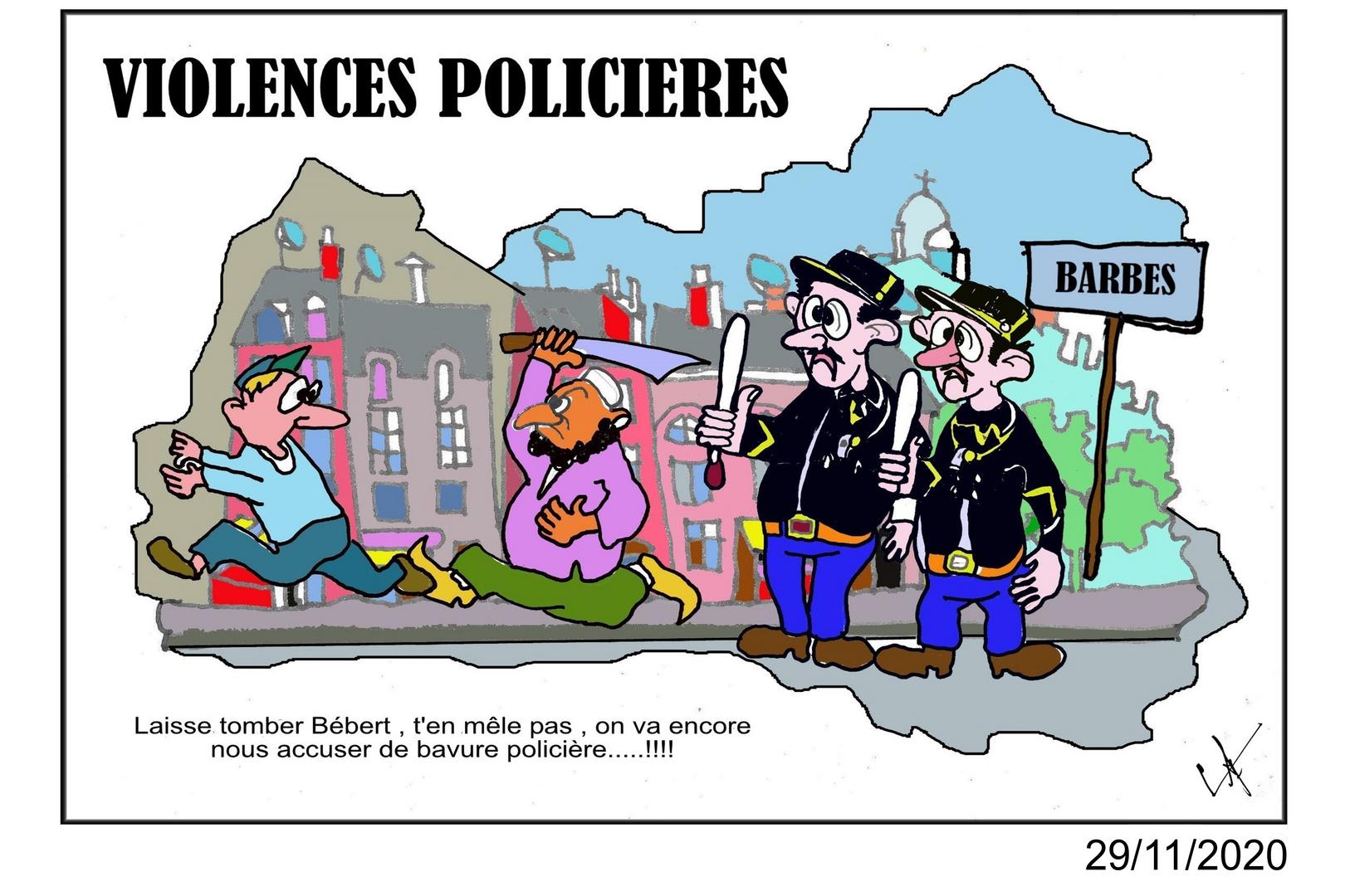 VIOLENCES POLICIERES ENCADREE DATEE