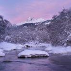 Violet-rosa Licht über dem Vorderrhein... reload
