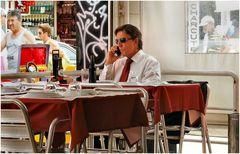 VIP in restaurant