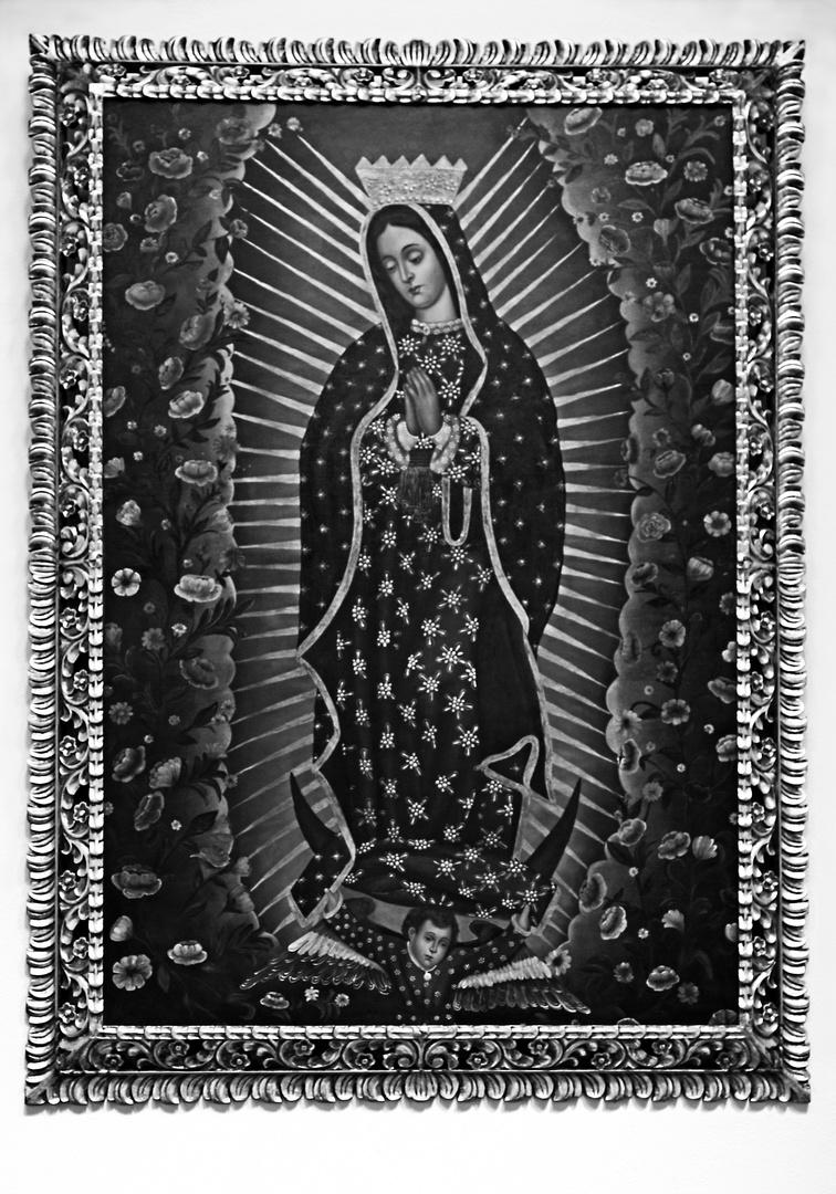 Virgen de Guadalupe Hacienda Sta. María