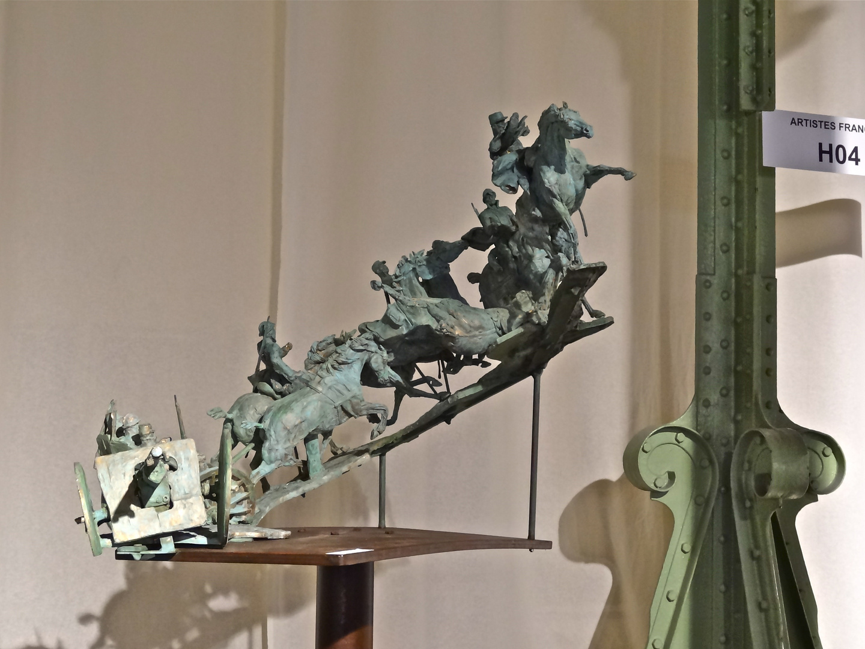 Virgil Magherusan (sculpteur) au Grand Palais