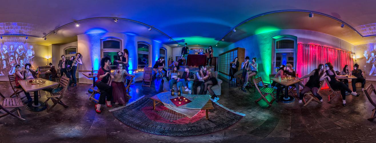 Virtuelles Artrium - Café