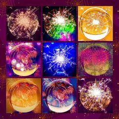 Virtuelles Feuerwerk
