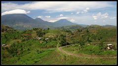 Virunga Volcanos, Uganda