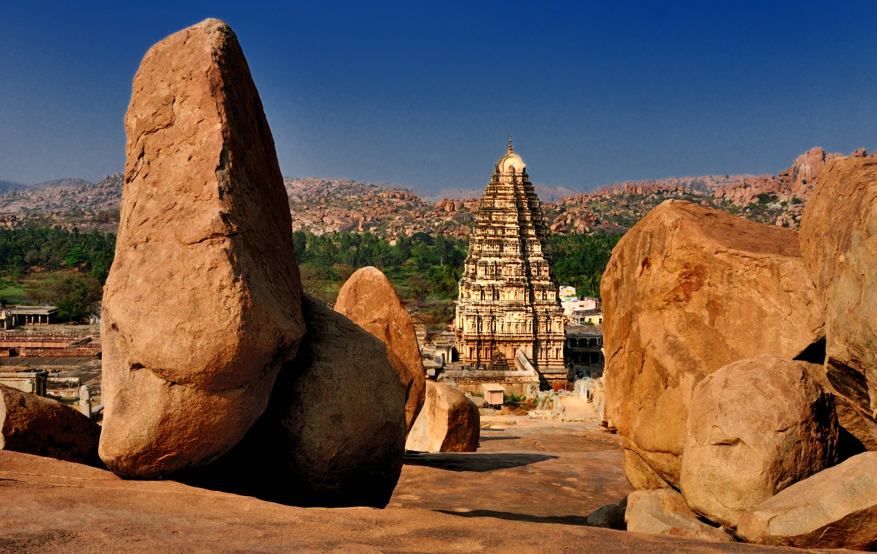 Virupaksha Tempel in Hampi