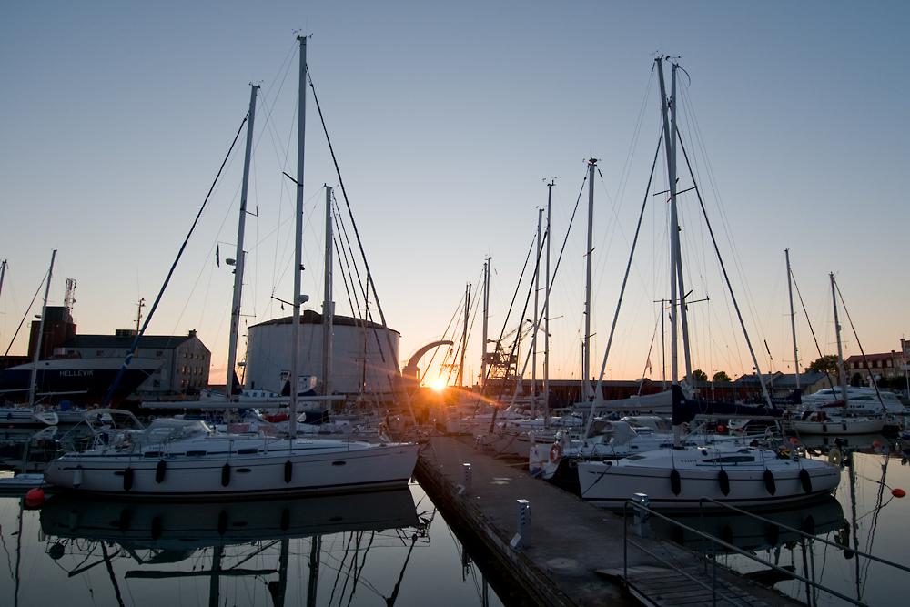 visby port