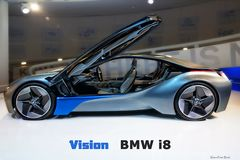 Vision BMW i8 von der Seite