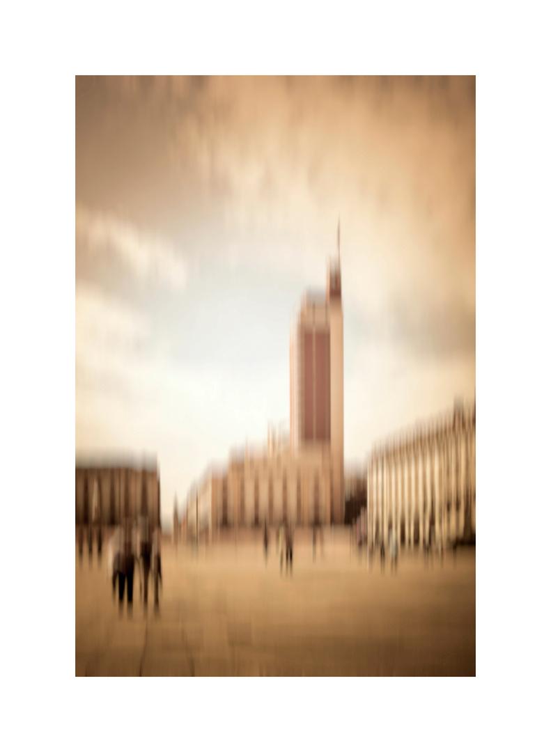 Visioni urbane alla Lyonel Feininger