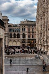 Visita al Duomo, tutti in fila