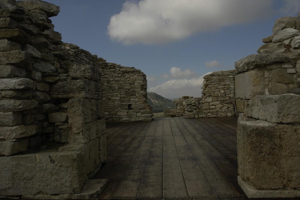 vista da un mondo antico