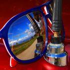 vista dagli occhiali