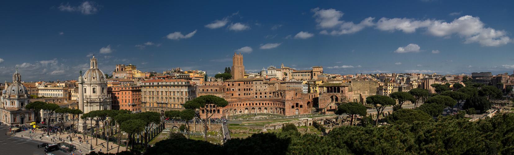 Vista dal Monumento Vittorio Emanuele II