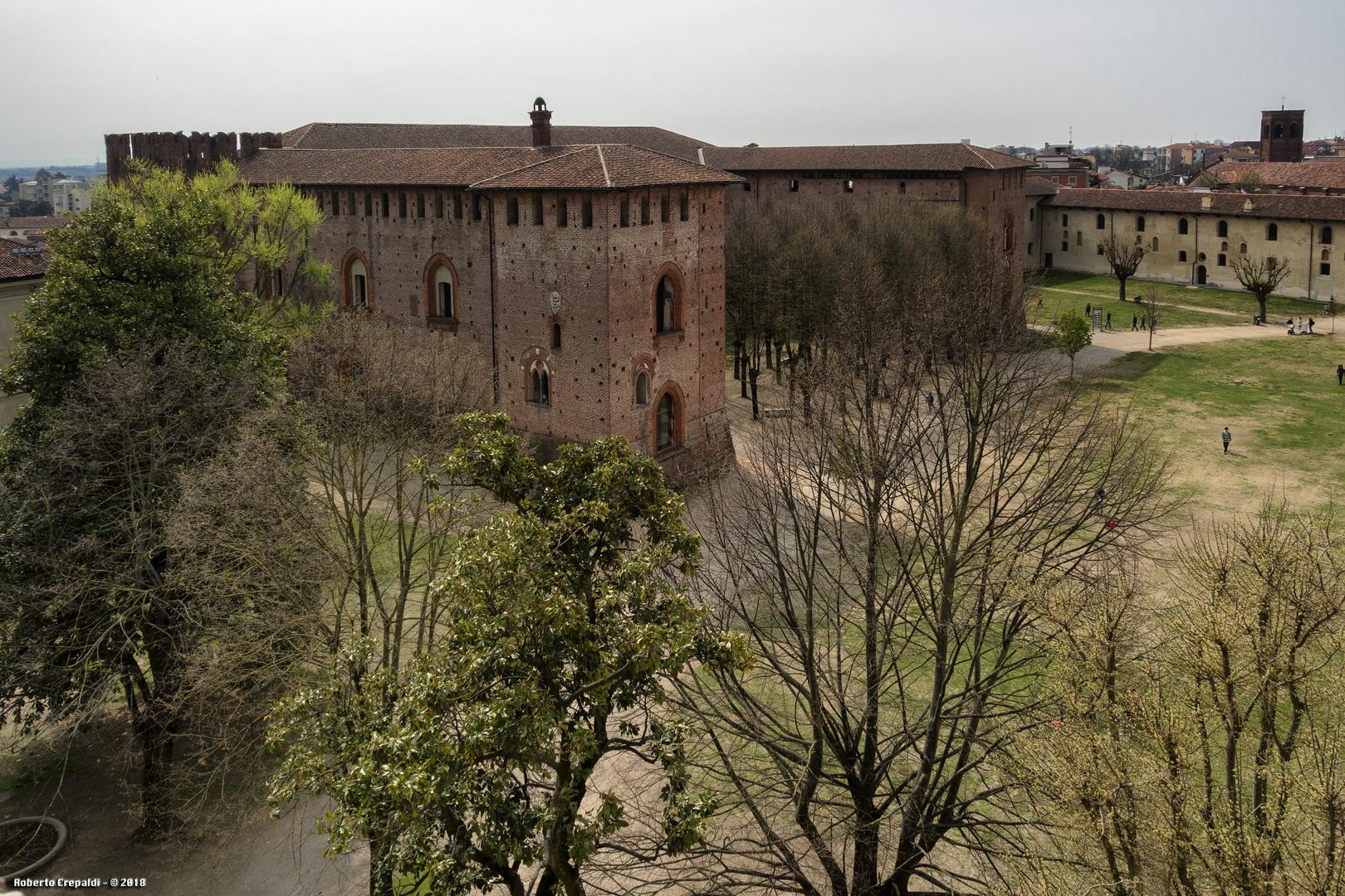 Vista dalla torre del Bramante