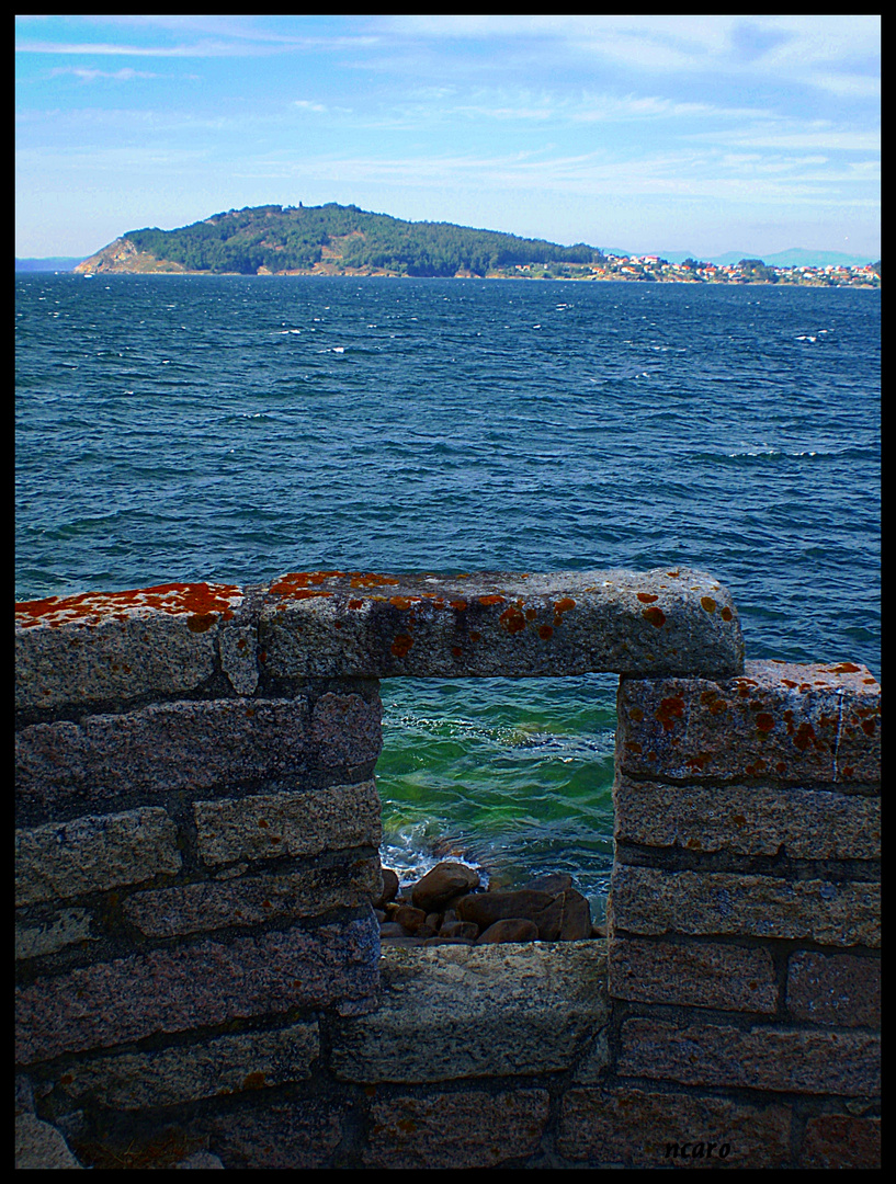 vista de islas cies