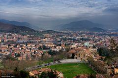Vista su Bergamo