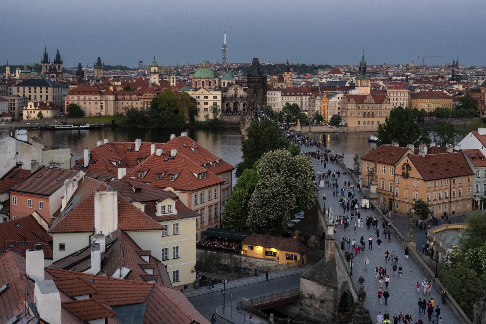 Vista sul ponte Carlo, Praga