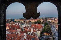 Vista sulla Moldava, Praga