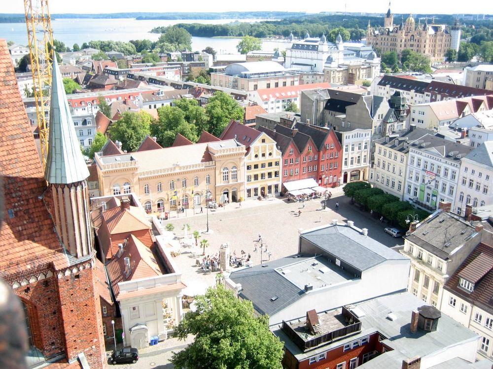 Vista superior de Schwerin