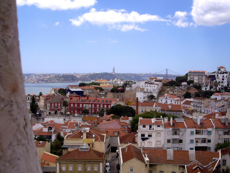 Vistas desde a Igreja de São Vicente de Fora, Lisboa