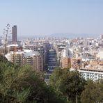 Vistas desde el castillo de Alicante