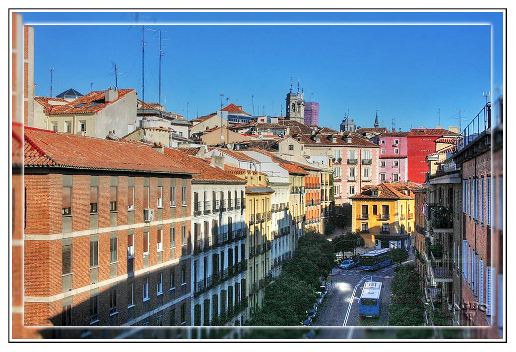 Vistas desde el Viaducto de la calle Bailen (Madrid) (HDR 1 Img) MiniKM3.5
