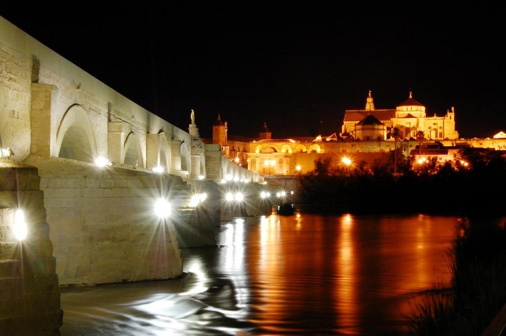 vistas nocturnas de córdoba