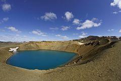 Víti-Krater im Krafla-Vulkan-System