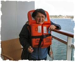 Vitoria, una donna di mare.....che paura :-))
